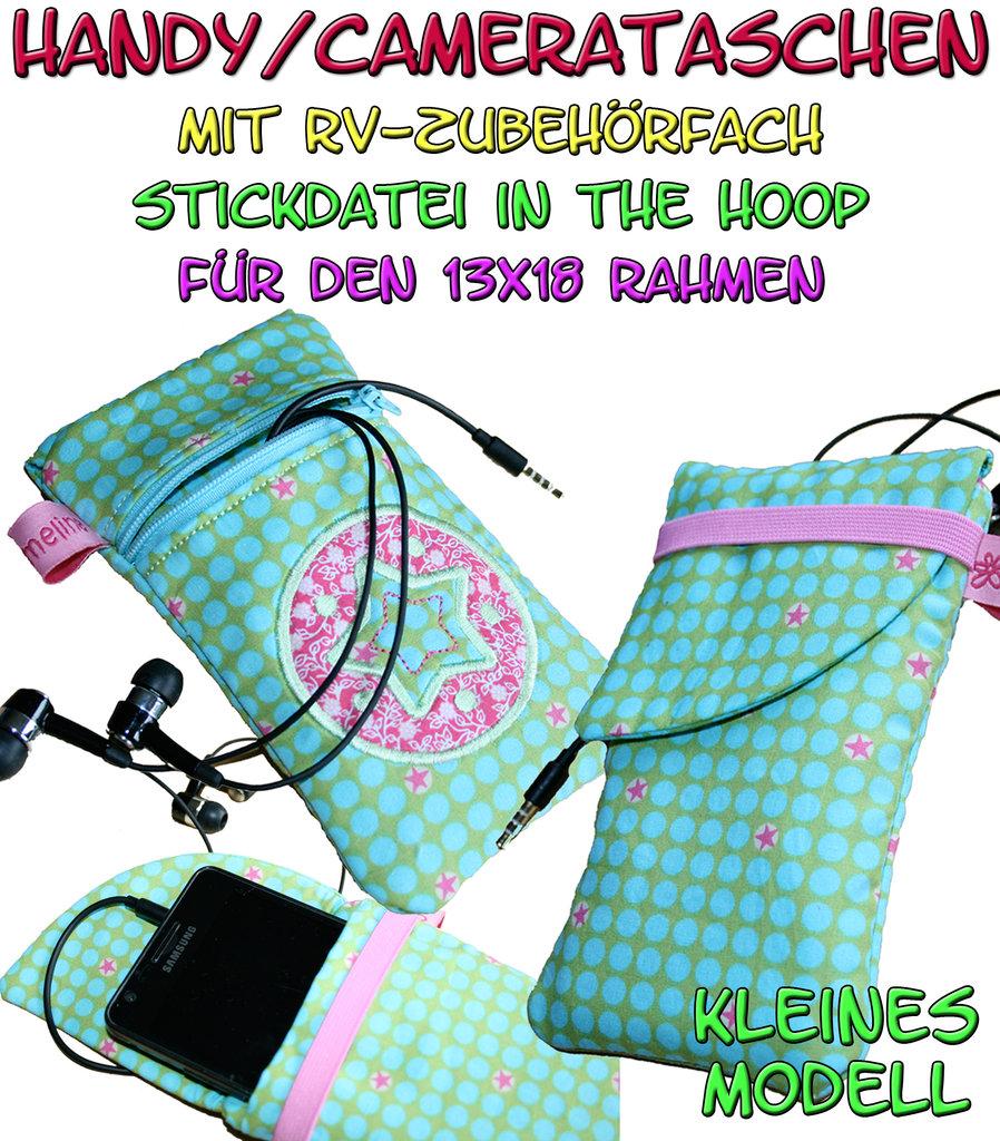 Handytaschen Camerataschen klein - ITH für den 13x18cm Rahmen ...