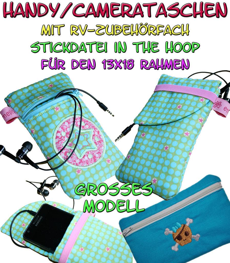 Handytaschen Camerataschen groß - ITH für den 13x18cm Rahmen - Faden ...